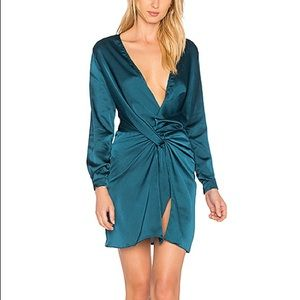 LIONESS Fame and Lust Dress in Teal XS&S